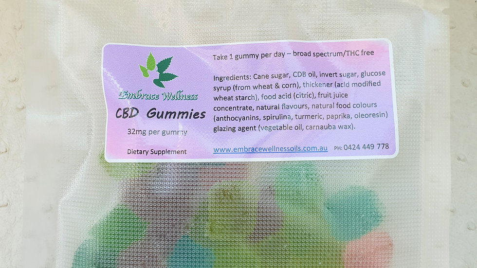 CBD Gummies 20 pack