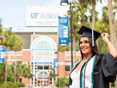 University of Florida Graduation Photographer | Karla UF 2020!