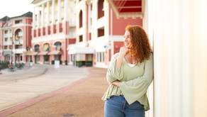 Senior Photoshoot at Disney's Boardwalk!