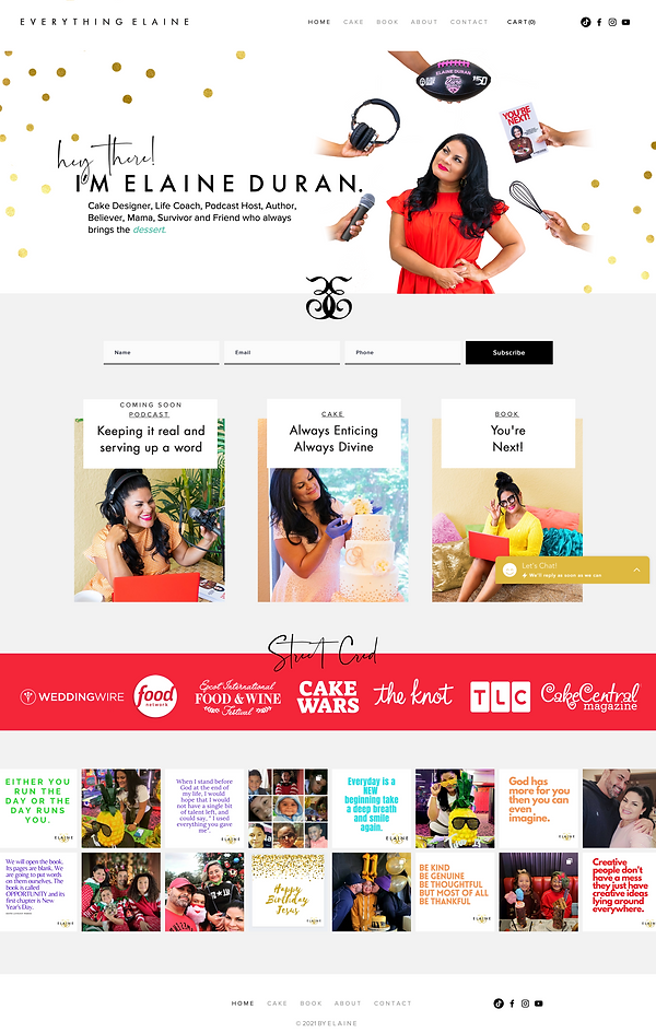 Elaine Home Page.png