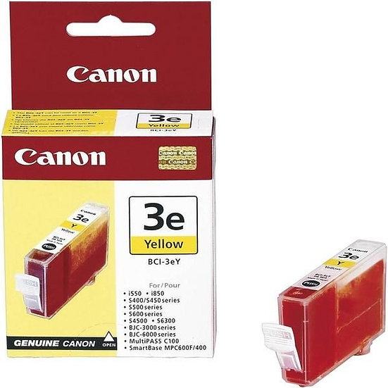 Canon Bci-3Ey (Yellow) Cartridge