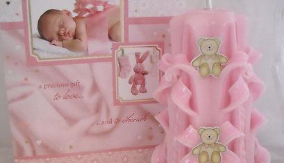 Baby girl candle.JPG
