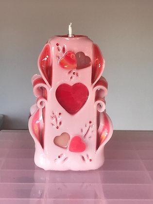 Valentines everlasting candle