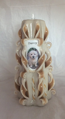 Personalised Picture Candle