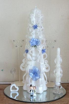 "Wedding candle centrepiece 18"" 💒"