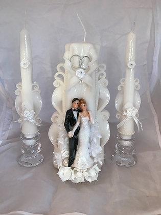 Unity wedding candle set