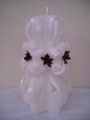 White Wedding Candle