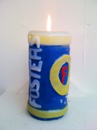 Fosters Can Candle