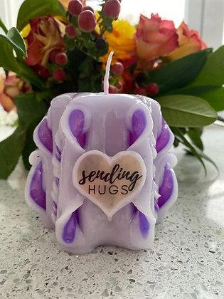 Sending Hugs Candle