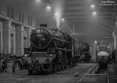 Black Five 44871 & Class 40 D335