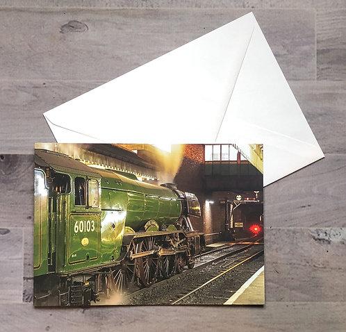 60103 'Flying Scotsman' - Greetings Card