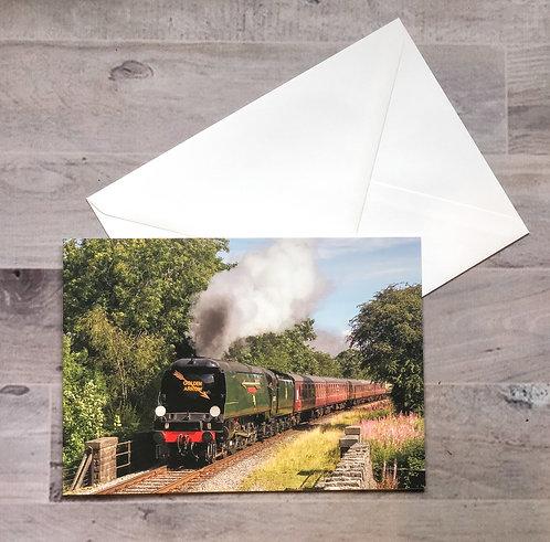 34092 'City of Wells' - Greetings Card