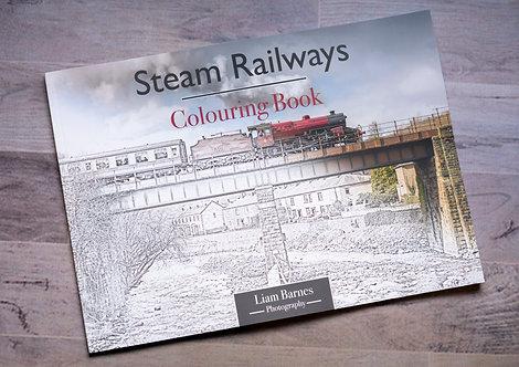 Steam Railways Colouring Book