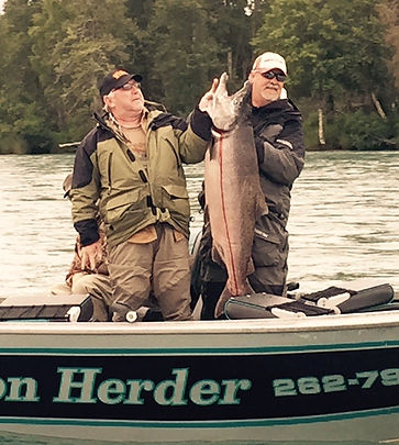Alaska salmon fishing guides and charters