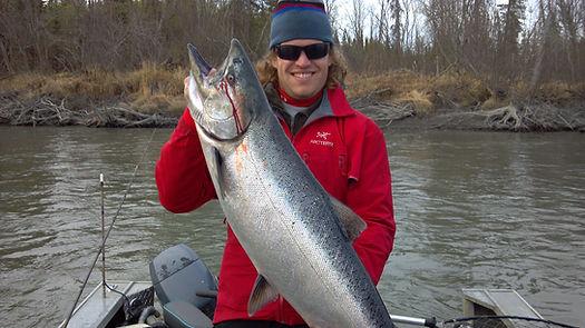 fishing,alaska,salmon,charters,trips,kenai,river