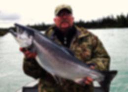 Alaska salmon fishing charters guides