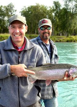 Alaska fishing guides charters kenai river