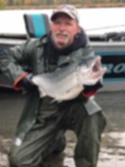kenai river silver salmon guides