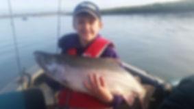 Kenai River Alaska salmon fishing