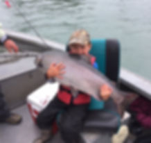 Alaska salmon fishing guides charters