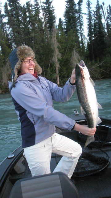 Jennifer silver salmon