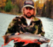 Kenai River Dolly Varden trout fishing Alaska