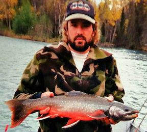 Kenai River Dolly Varden trout fishing Alaska