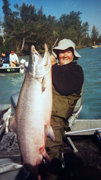 Alaska salmon fishing charters