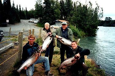 Kenai River Alaska King Salmon fishing
