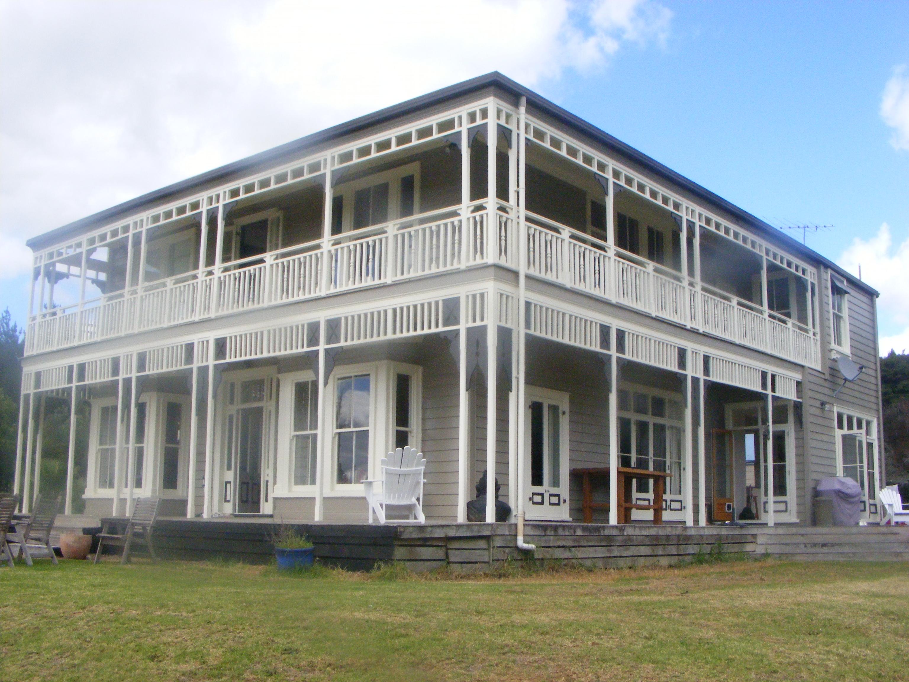 House Painted 1900 Villa