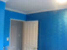 this was for boys bedroom in Danemora, they wanted a shiny brush effect.