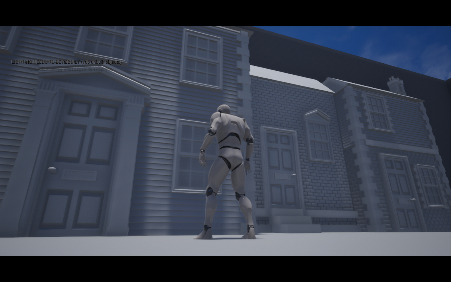 Modular architecture imported into Unreal Engine 4