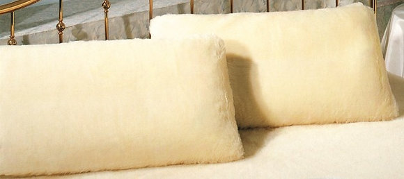 Hoofdkussen in type cachemire wol incl. comfort fill vulling - 60 x 60