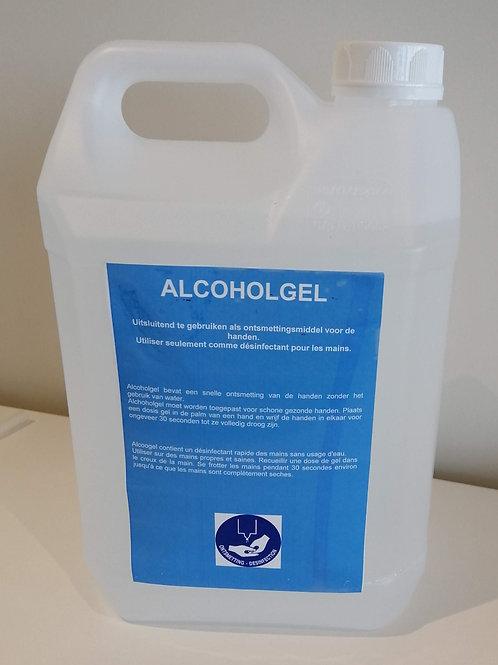 Handontsmetting waterige oplossing +- 80% ethanol - 5 liter