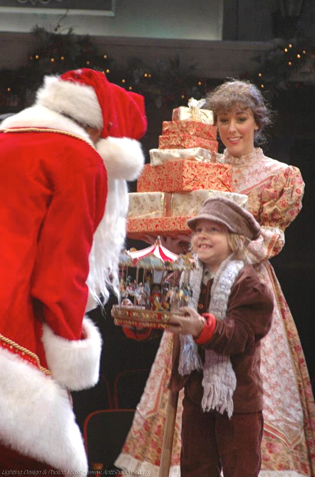 Scrooge- Mrs Cratchit