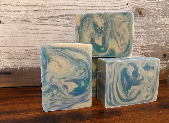 Limited Edition Market Soap: BLUE FOREST