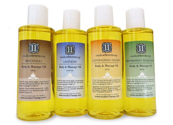 Body and Massage Oil