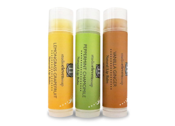 Natural Beeswax Lipbalms
