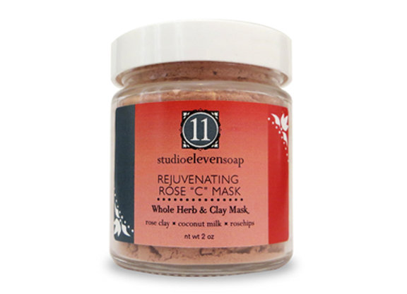 "Whole Herb & Clay Rejuvenating Rose ""C"" Mask"