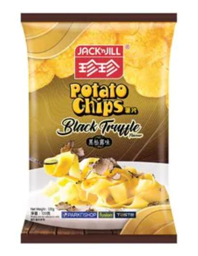 珍珍 黑松露味薯片 120G