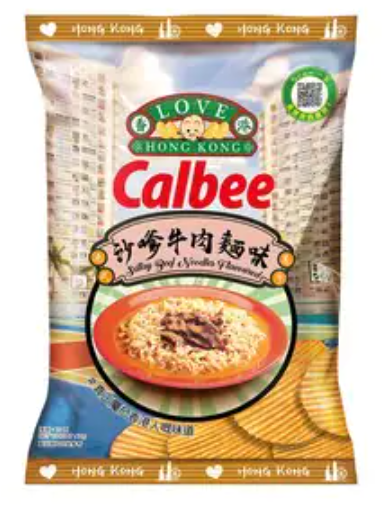 卡樂B 沙嗲牛肉麵味薯片 70G