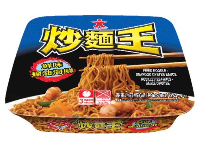 公仔 海鮮蠔油炒麵王