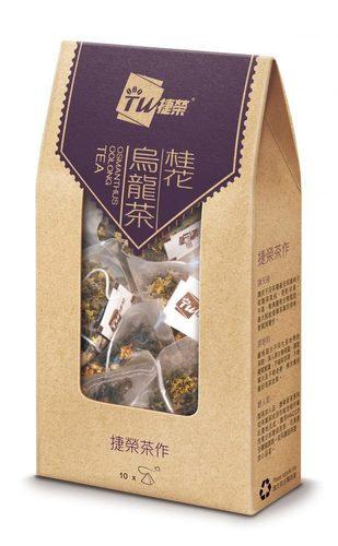 捷榮 桂花烏龍茶原葉茶包 10包裝