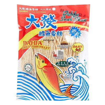 大發 鱈魚絲 120G[大包裝]