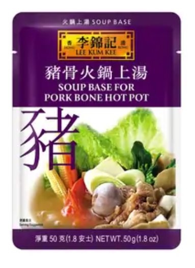 李錦記 豬骨火鍋上湯 50G