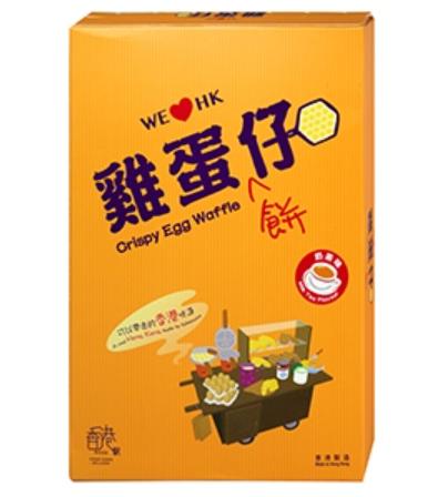 香港馬尺雞蛋餅仔 奶茶味 5件裝