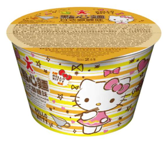 公仔Hello Kitty 點心麵日式咖喱味
