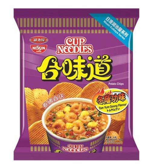 日清湖池屋 合味道冬蔭功味薯片 50G