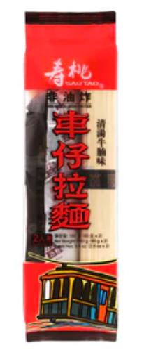 壽桃牌 清湯牛腩味車仔拉麵