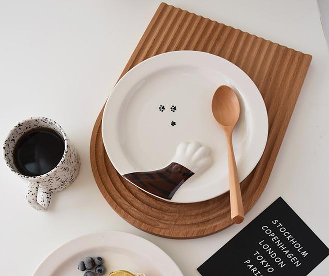 陶瓷貓爪造型碟